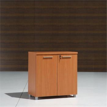 meuble bas 2 portes en bois l80cm