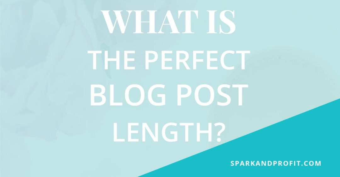 What Is The Perfect Blog Post Length?