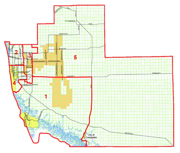 Collier County District Map