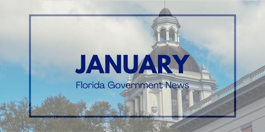 January 2021 Florida Government News