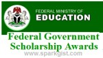 Federal Ministry of Education Scholarship Award 2019/2020 (Apply for FSB NA/SDG/Nigeria Scholarship)