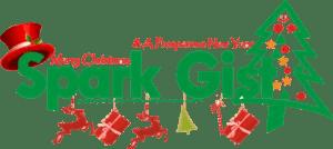 Spark gist Christmas Logo