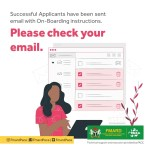 FMARD  Onboarding Message to all Successful Applicants- See what to do Next