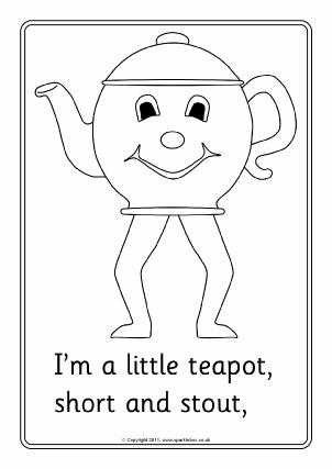 nursery rhymes coloring pages # 5