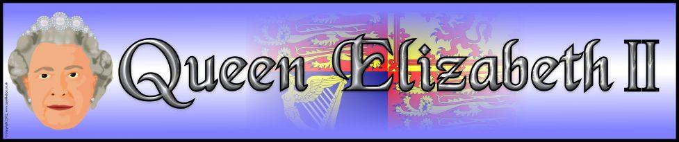 Queen Elizabeth Ii Display Banner Sb9001 Sparklebox