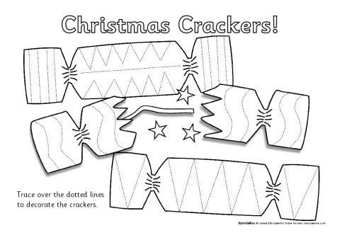 Christmas Pencil Control Sheets SB1940 SparkleBox