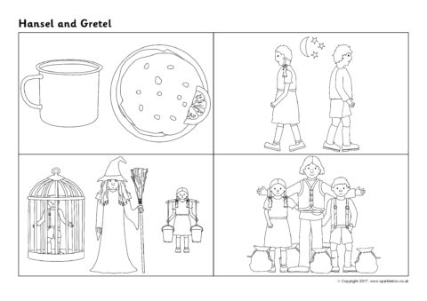 Hansel And Gretel Sequencing Sheets Sb