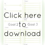 Refocus your mind with this free printable