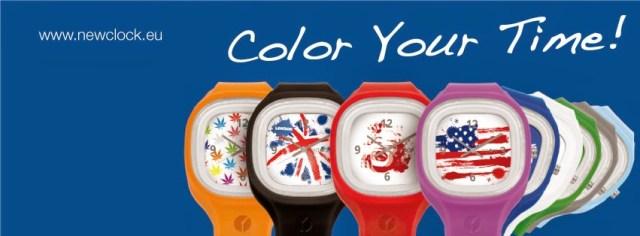 newclock NEW CLOCK - REGALA UN SORRISO, compra l'orologio solidale
