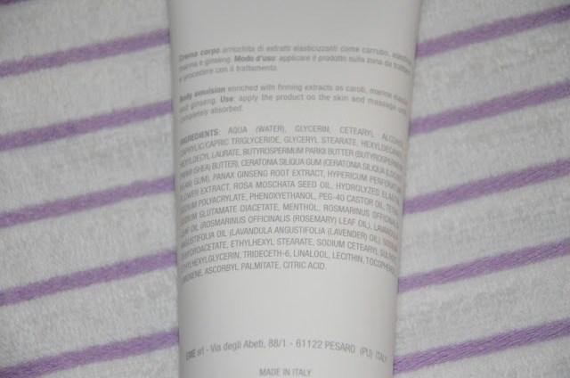 DSC_0443 KIEME Lift-Firming Cream crema tonificante corpo