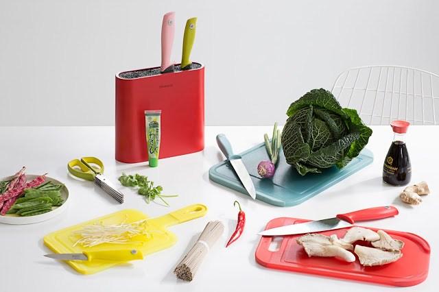 Tasty-Colours-MOOD-08 Brabantia Tasty Colours - Ceppo e coltelli colorati
