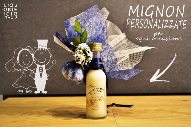 MIGNON Liquorificio Italia, idea regalo personalizzato