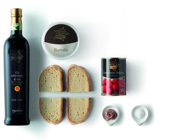 ingredienti_burrata Eurospin burrata con le alici ed olio d'oliva by Le Nostre Stelle