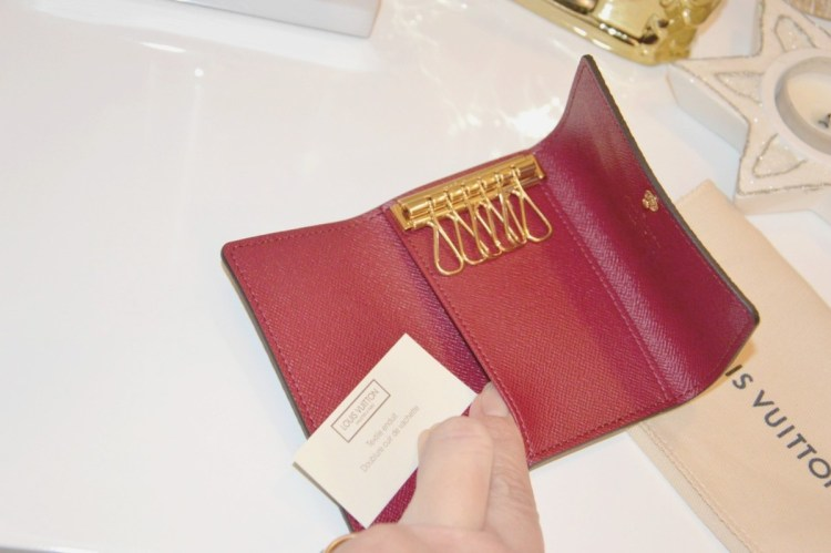 DSC_3163 Dove comprare un portachiavi di lusso? Multiclés 6 key holder Louis Vuitton portachiavi