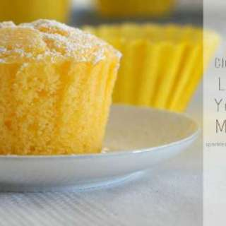 Fluffy Gluten Free Lemon and Yoghurt Muffins!