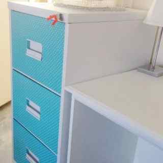 DIY – Old Filing Cabinet Makeover!!