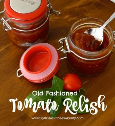 Old Fashioned Tomato Relish