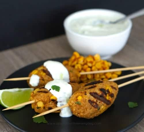 Gluten Free Chicken and Corn Koftas recipe