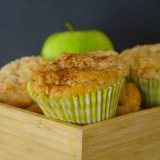 Gluten Free Apple and Cinnamon Muffins!