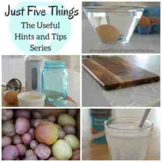 The Useful Hints and Tips Series…In The Kitchen!
