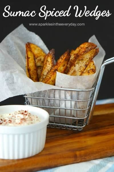Sumac Spiced Wedges - ready to eat!!
