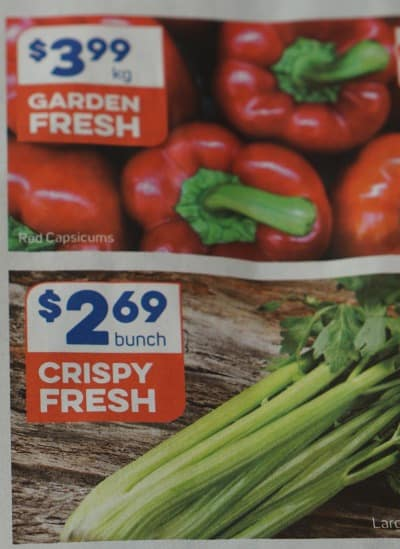 Capsicum - Ways to eat healthier on a small budget