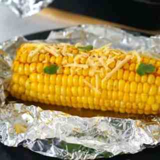 The Best Oven-Baked Corn On The Cob!
