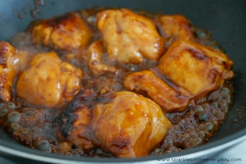 Easy Everyday Meal - Gluten Free Honey and Soy Chicken