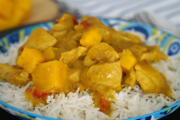 Tender Easy Mango Chicken Curry (Gluten Free)