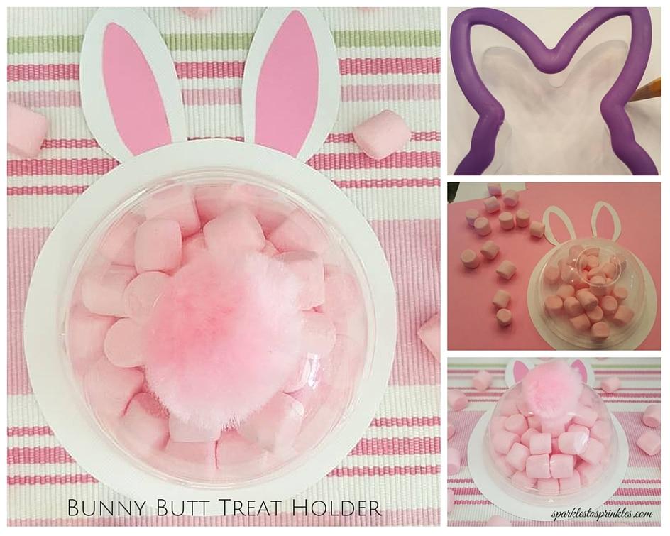 Bunny Butt Treat Holder