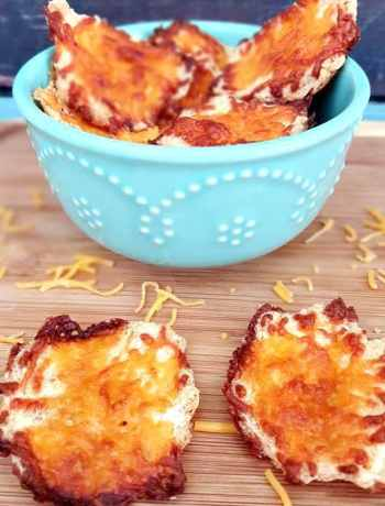 Cloud Bread Chips – No Carb