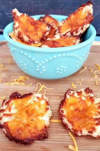 Cloud Bread Chips – No Carb