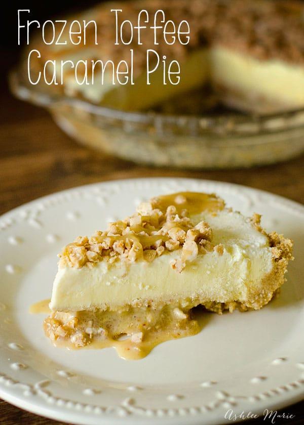 caramel toffee pie