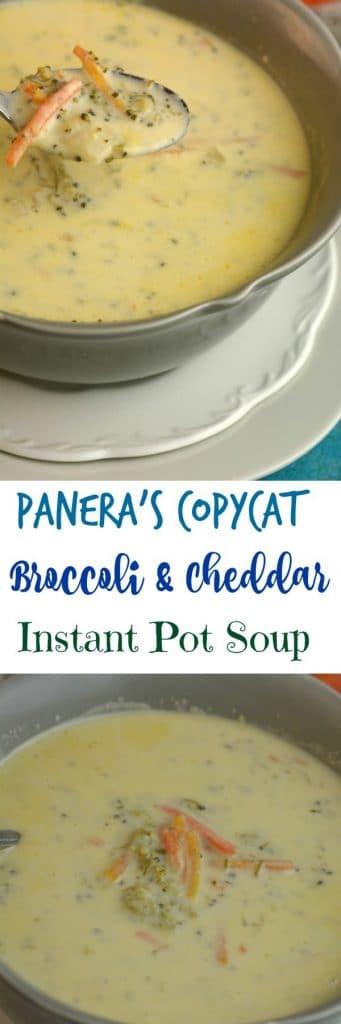 panera broccoli soup
