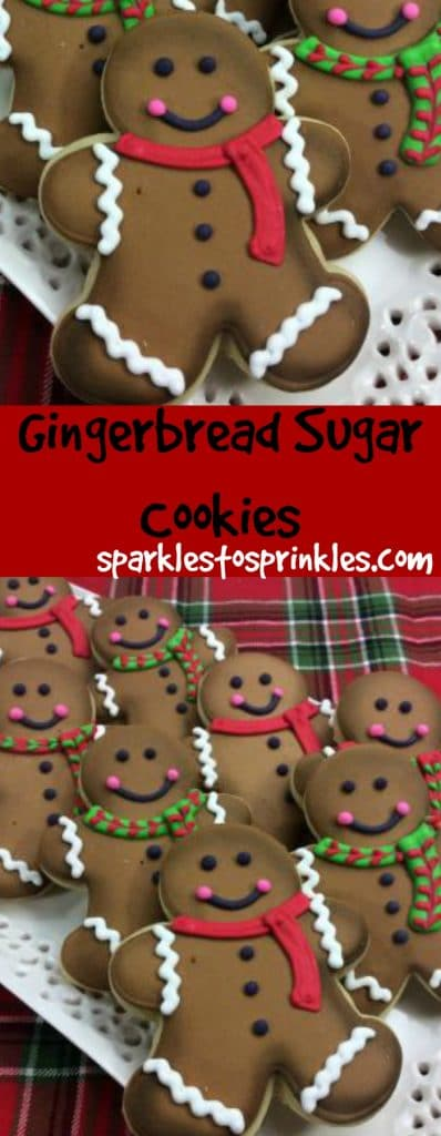 Gingerbread Sugar Cookies Sparkles To Sprinkles