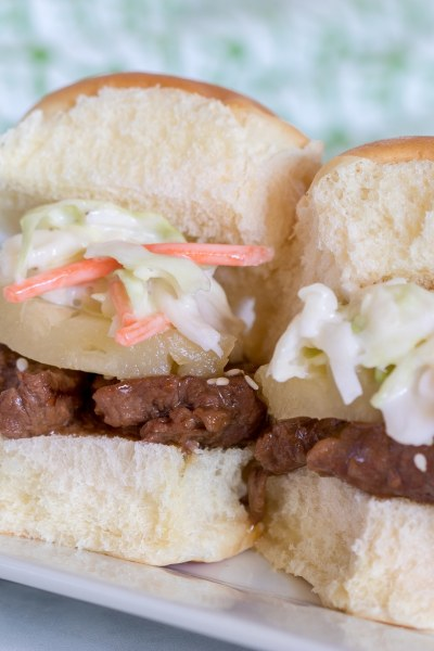 Instant Pot Hawaiian Beef Sliders