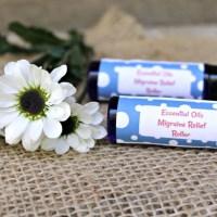 DIY Essential Oils Migraine Relief Roller Recipe