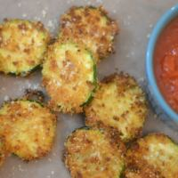 Ninja Foodi or Air Fryer Zucchini Chips