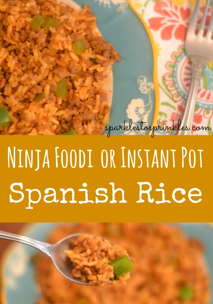 Ninja Foodi Or Instant Pot Spanish Rice
