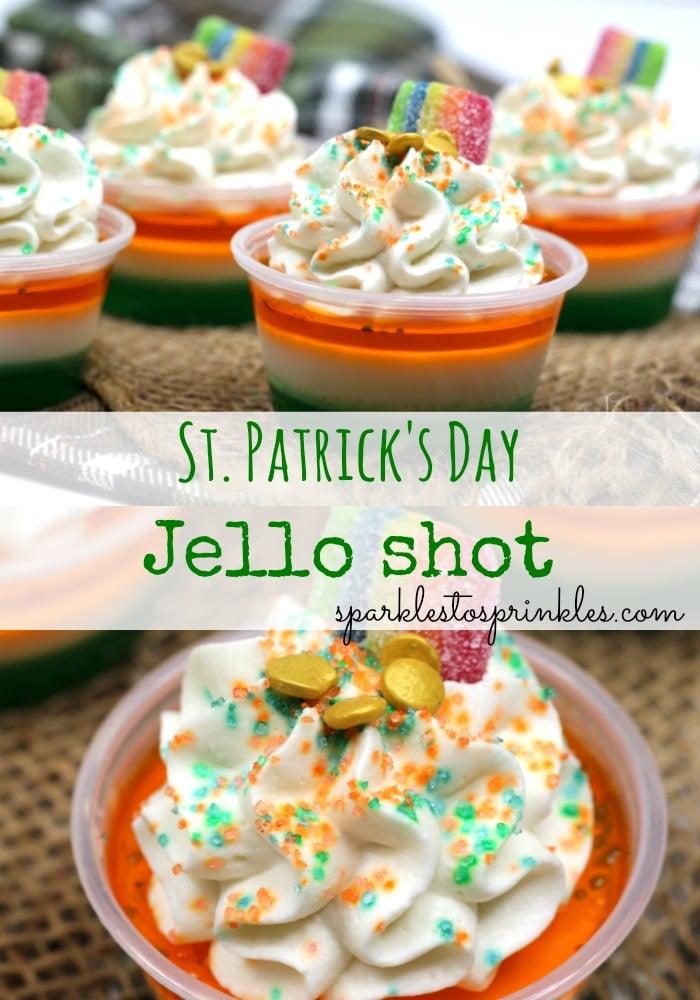 St. Patrick's Day Jello Shots