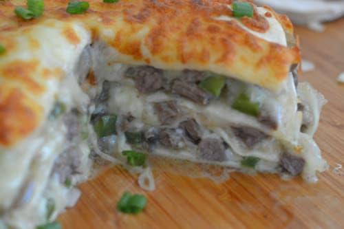 Ninja Foodi or Air Fryer Philly Cheese Steak Pie ...