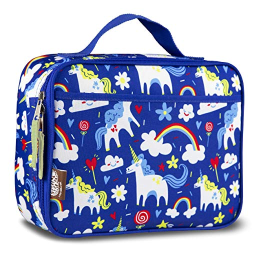 LONECONE Kids' Insulated Lunch Box - Cute Patterns for Boys and Girls, Gary the Unicorn, Standard