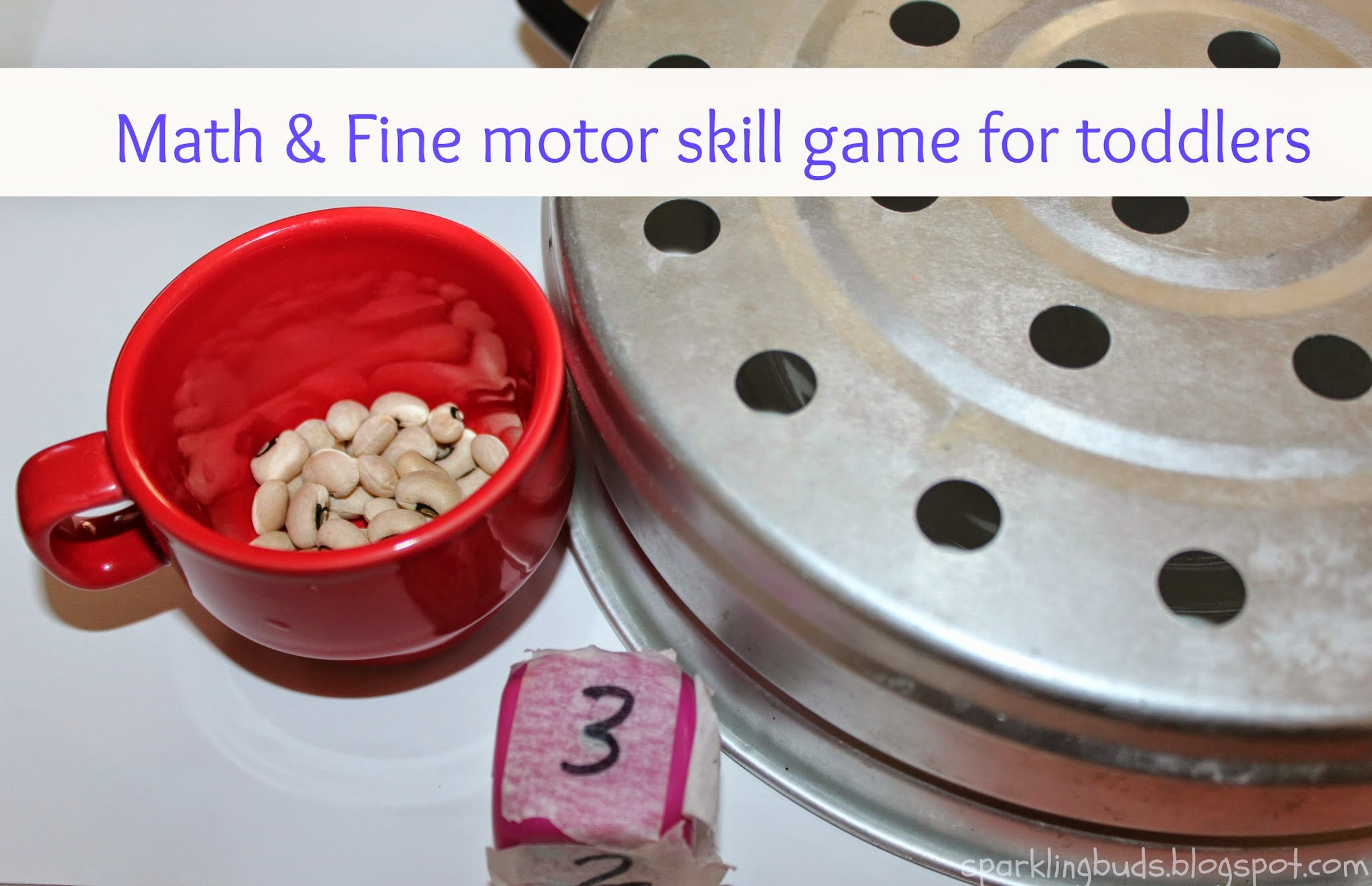 Math And Fine Motor Skill Game For Toddlers