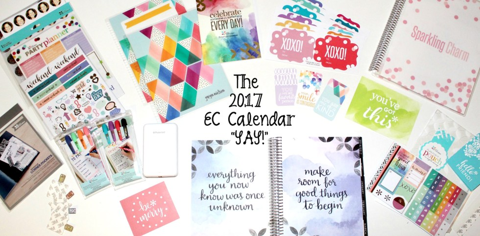 The Erin Condren Calendar: My Favorite Organizational Tool