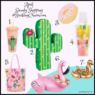April Beauty Shopping-A Sunny Life