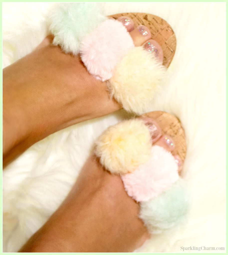 DIY Shoe Do's: Samantha's Faux Fur Bewitched Beauties
