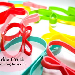 Sparkle Crush: Gifted Elastic Ribbon Bands