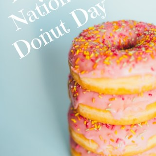 Reasons to Party: NATIONAL DONUT DAY