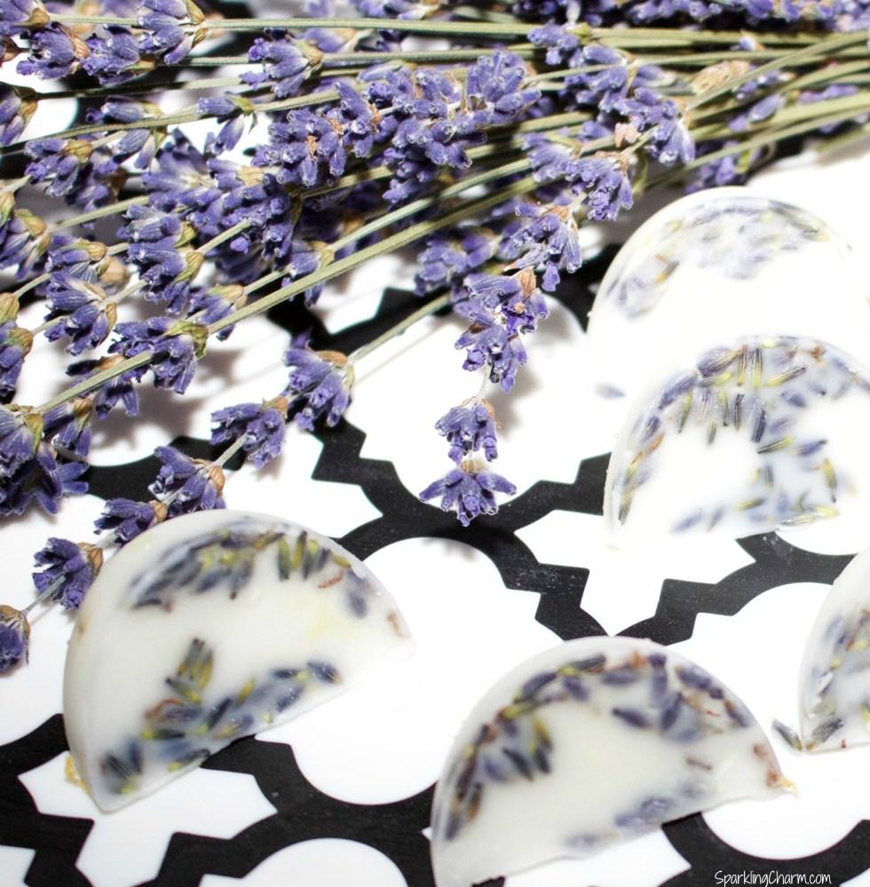 Lavender Silky Bath Melts