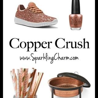 September Beauty Shopping: Copper Crush